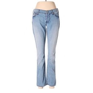 7 For All Mankind Blue 25 Waist Jeans Pants